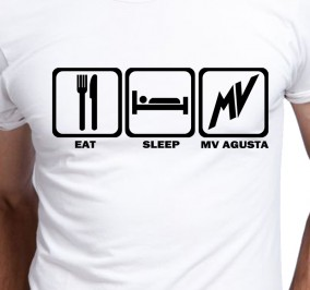 T-shirt Men Eat Sleep MV Agusta