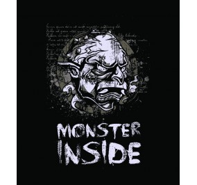 T-shirt Men Monster Inside