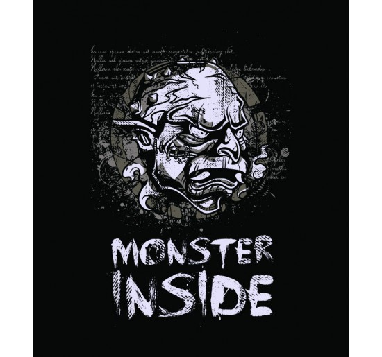 T-shirt męski Monster In Side