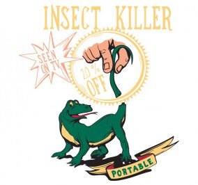 T-shirt Damski Insect Killer