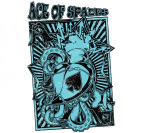 T-shirt Damski Ace Of Spades