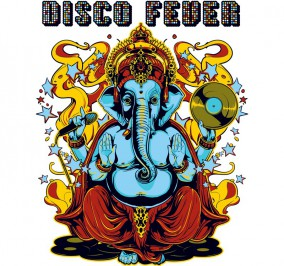 T-shirt Damski Disco Fever