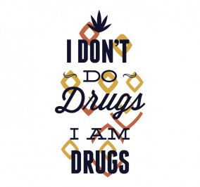T-shirt Damski I Am Drugs
