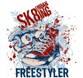 T-shirt Damski Freestyler