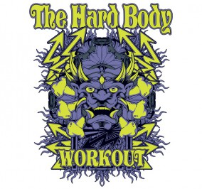 T-shirt Damski Hard Body
