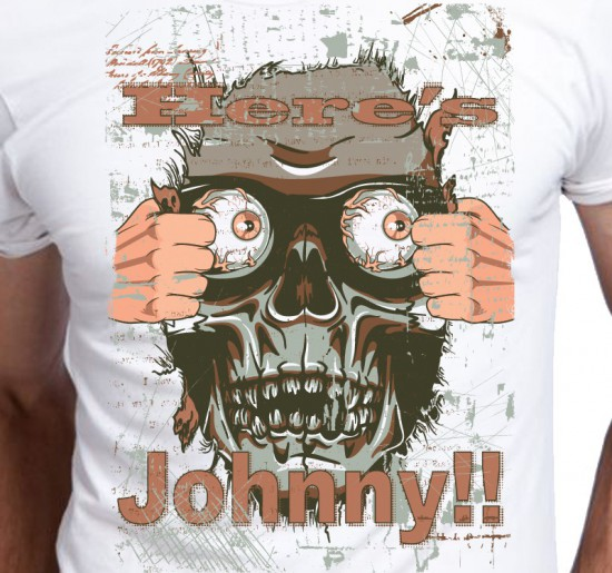 T-shirt męski Here's Johnny