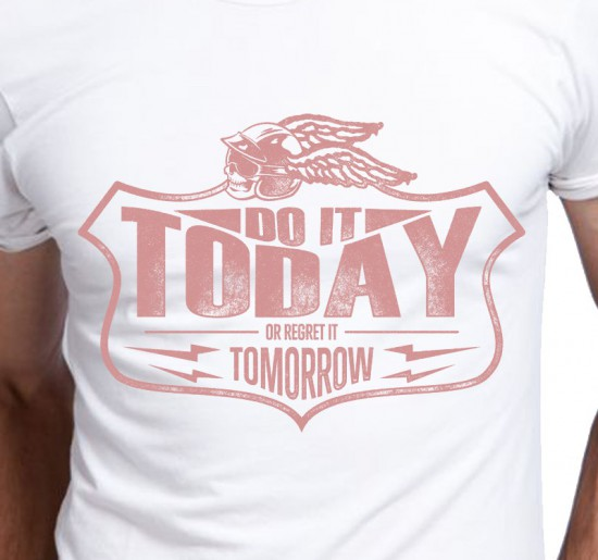 T-shirt Męski Do It Today