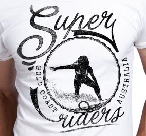 T-shirt Męski Super Riders