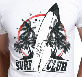 T-shirt Męski Surf Club