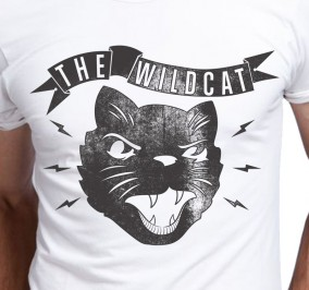 T-shirt Męski Wild Cat
