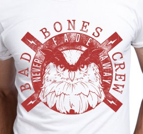 T-shirt Męski Bad Bones Crew