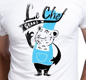 T-shirt Męski Le Chef Grand