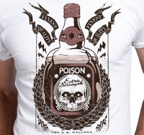 T-shirt Men Poison