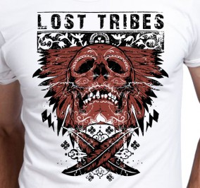 T-shirt Men Lost Tribes