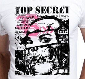 T-shirt Męski Top Secret