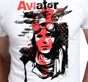 T-shirt Męski Aviator