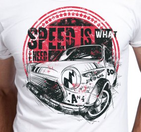 T-shirt Męski Speed