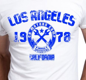 T-shirt Męski Los Angeles California