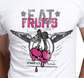 T-shirt Męski Eat Fruits