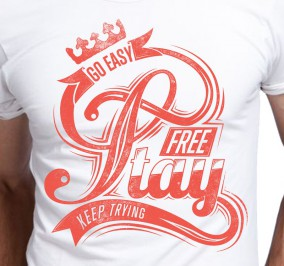 T-shirt Męski Free Stay
