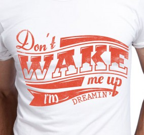 T-shirt Męski Dont Wake