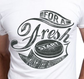 T-shirt Męski Fresh Start