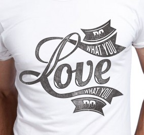 T-shirt Męski Do What You Love