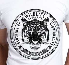 T-shirt Męski Tiger