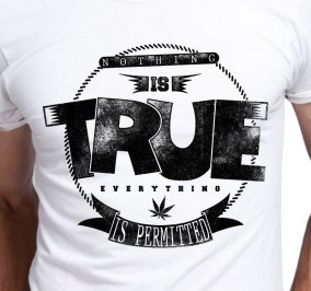 T-shirt Męski Nothing Is True