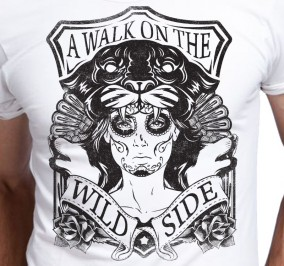 T-shirt Męski Wild Women