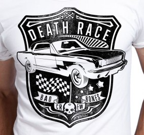 T-shirt Męski Death Race BBC