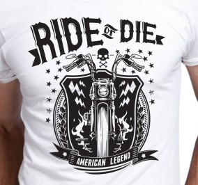 T-shirt Męski Ride Or Die