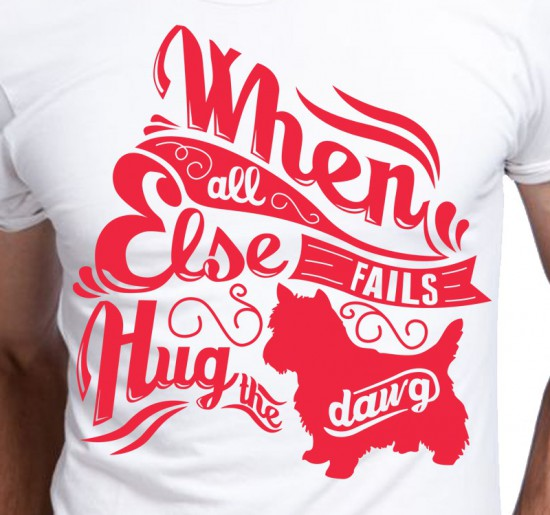 T-shirt Męski When All Fails