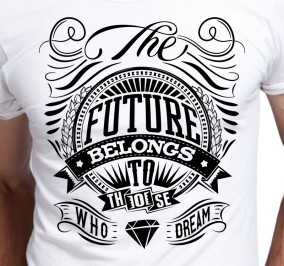 T-shirt Męski Future