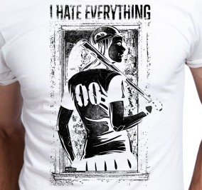 T-shirt Męski I Hate Everything