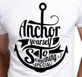 T-shirt Męski Anchor