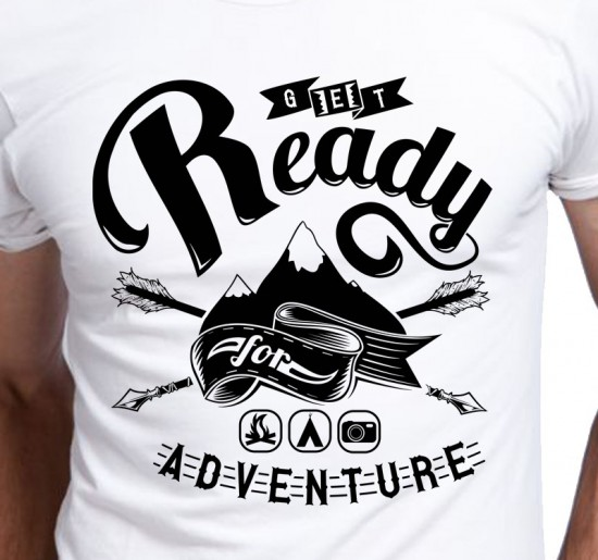 T-shirt Męski Adventure