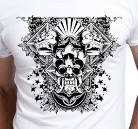 T-shirt Men Maska Hannya