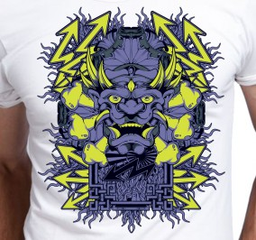 T-shirt Men Moc Hannya