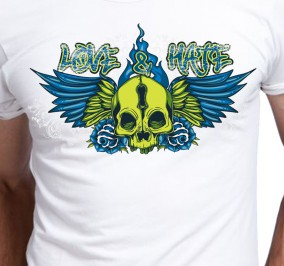T-shirt męski Love & Hate