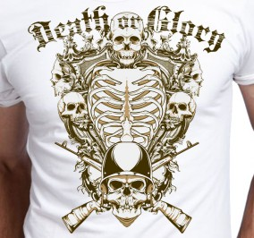 T-shirt męski Czaszki Death Or Glory