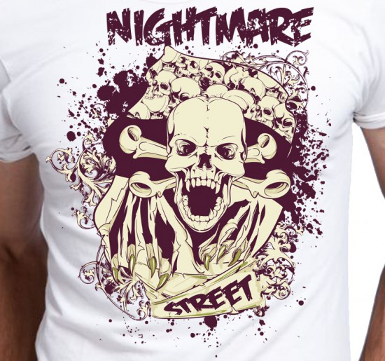 T-shirt męski Nightmare