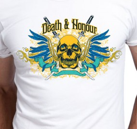 T-shirt męski Death & Honour