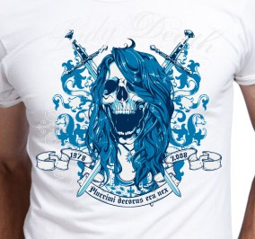 T-shirt męski Lady Death