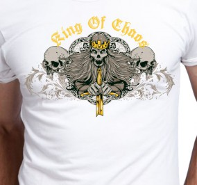 T-shirt męski King of Chaos