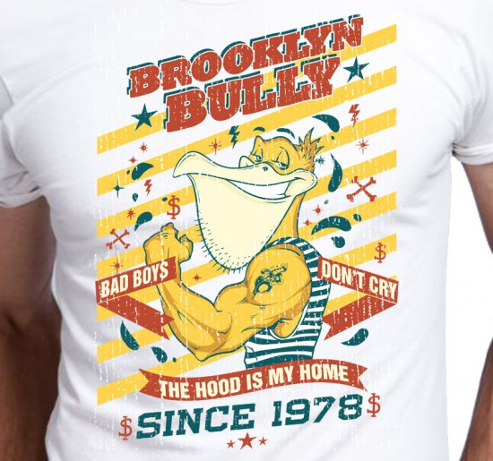 T-shirt męski Brooklyn Bully