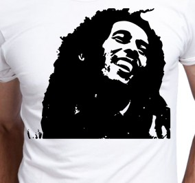 T-shirt Men Bob Marley