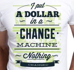 T-shirt męski Change Machine