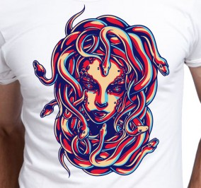 T-shirt Men Gorgon