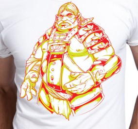 T-shirt męski Wiking